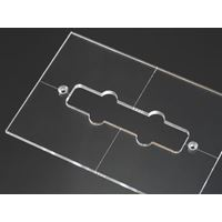 Picture of J-bass neck pickup routing template
