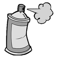 Picture of Nitrocellulose Clear Lacquer High 400ml Spraycan