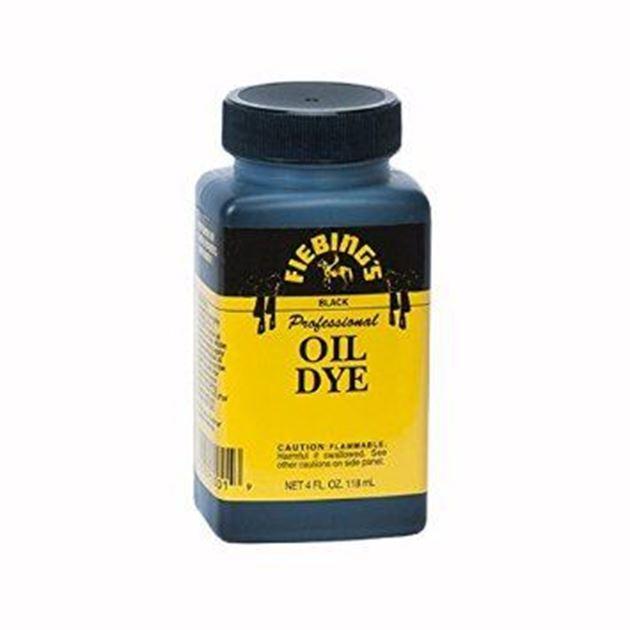 Picture of Fiebing black oil dye / fretboard stain