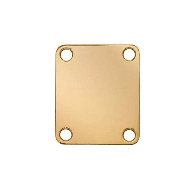 Afbeelding van Neck plate goud