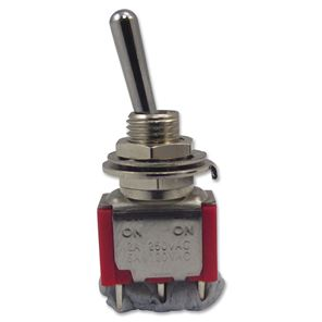 Picture of 3 polige mini toggle switch ON-ON