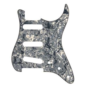 Picture of ST Pickguard SSS 3ply Black Pearl
