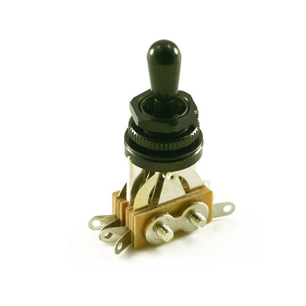 Picture of LP® TOGGLE SWITCH Black (3 PICKUP) BLACK TIP