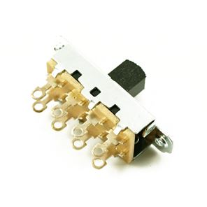 Picture of Switchcraft Slideswitch Mustang/Duosonic® zwart