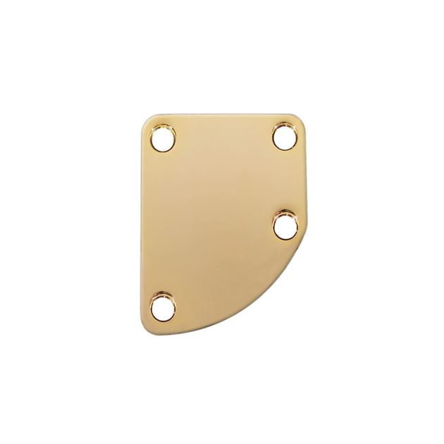 Afbeelding van Rounded neck plate gold