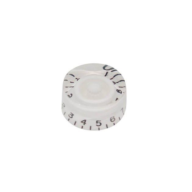 Afbeelding van Speed knop white US-size