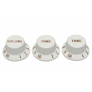 Picture of Fender® original knob set white