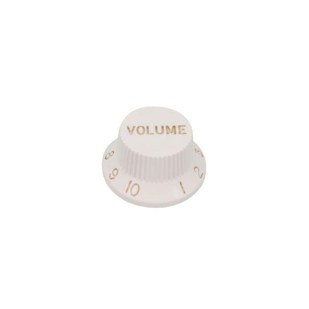 Picture of Strat knob Volume white US size