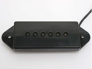 Picture of Kluson Grand Vintage P90 Bridge Black DogEar