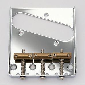 Afbeelding van Kluson Vintage Tele bridge 3 brass saddles