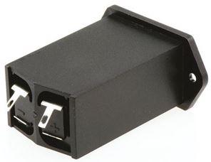 Afbeelding van 9V batterijhouder flens montage