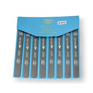 Picture of UO-Chikyu - Hiroshima nut file set, 8 piece set.