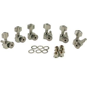 Afbeelding van Sperzel Locking Tuners Chrome 6x1 staggered