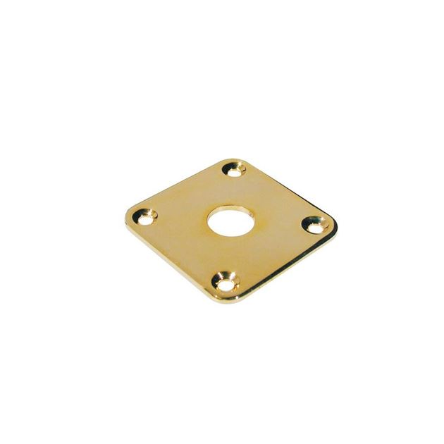 Picture of Square input cover gold
