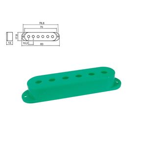 Picture of Strat pickup cover green