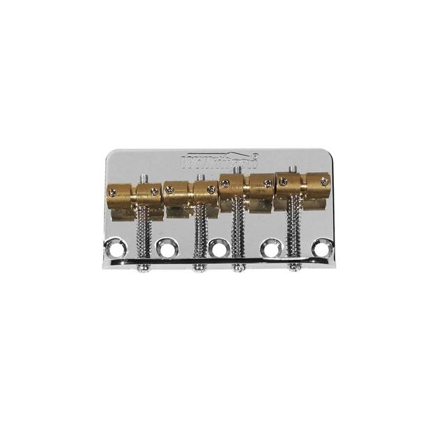 Picture of Wilkinson J/PB bridge chrome, brass saddles