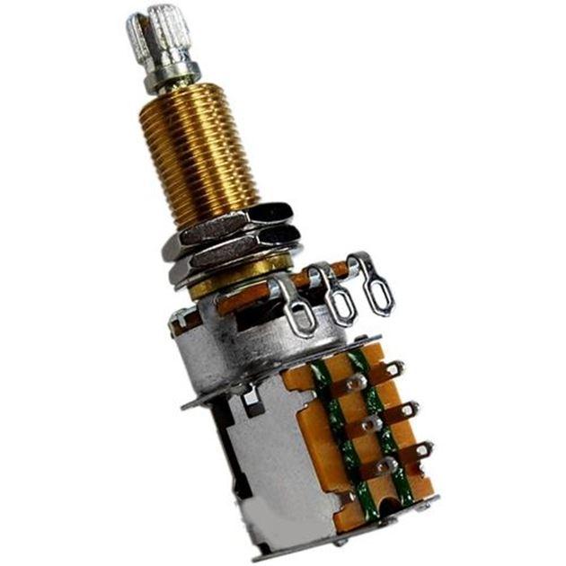 Afbeelding van Bourns Pro Audio Push/Pull Potmter 500kOhm Logaritmisch Long Shaft