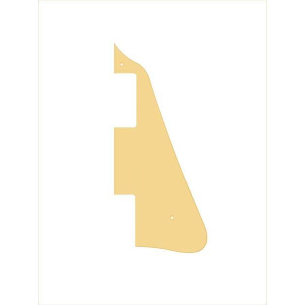 Afbeelding van Les Paul slagplaat crème 1 laag