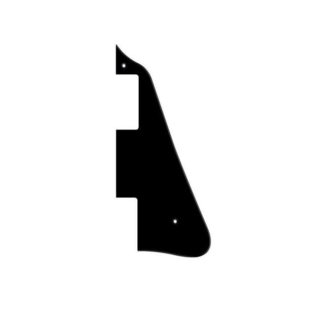 Afbeelding van Les Paul slagplaat zwart, 1 laag.