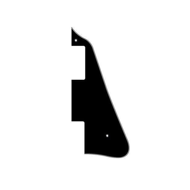 Afbeelding van Les Paul Slagplaat Zwart - Wit - Zwart - 3ply