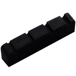 Afbeelding van Bass nut graphite black 38x6mm