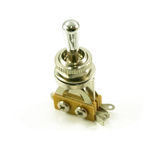 Picture of GSP LP-style 3-way toggle switch chrome knob
