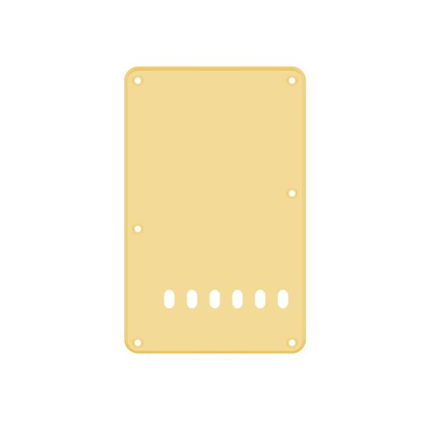 Picture of Backplate cream 6 holes 1-ply