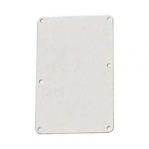 Picture of Backplate white no holes 1ply