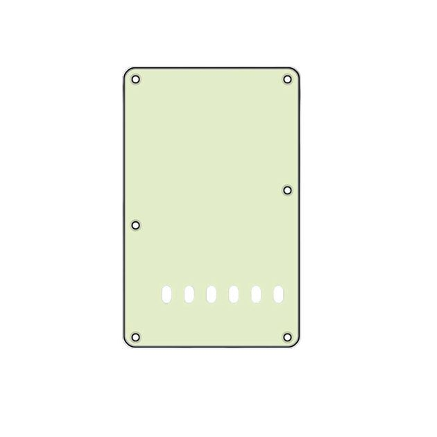 Picture of Backplate mint 6 holes 3ply