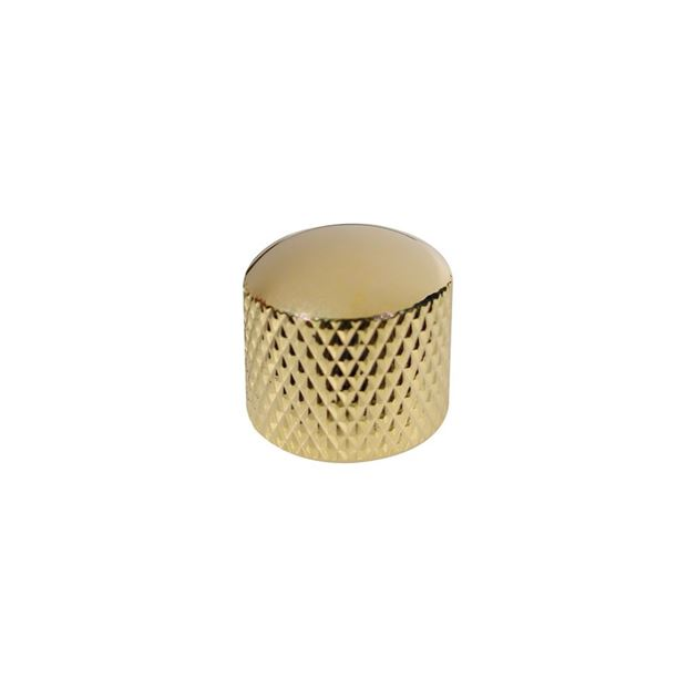 Picture of Dome knop goud 'push-on'
