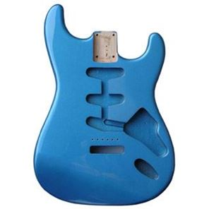 Picture of Stratocaster Body Lake Placid Blue Amerikaans elzen