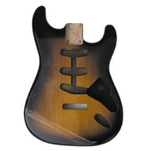 Picture of Stratocaster Body 2-tone sunburst Amerikaan elzen
