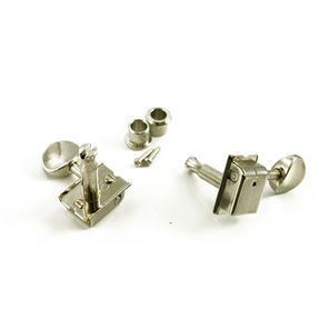 Picture of Kluson® USA 6 in line no logo tuners nickel