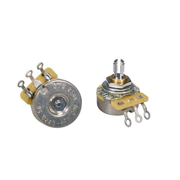 Picture of CTS Potmeter 250kOhm Logarithmic / Audio Short