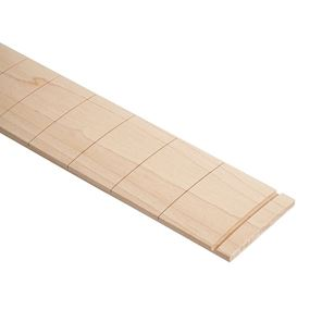 Picture of Voorgezaagd maple bassfretboard. 34 inch scale 20 inch radius