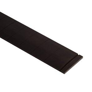 Afbeelding van Voorgezaagd ebben fretboard. 25.5 inch scale, 9,5 inch radius