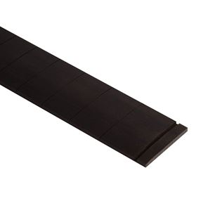 Picture of Voorgezaagd ebben fretboard. 25.5 inch scale, 9,5 inch radius