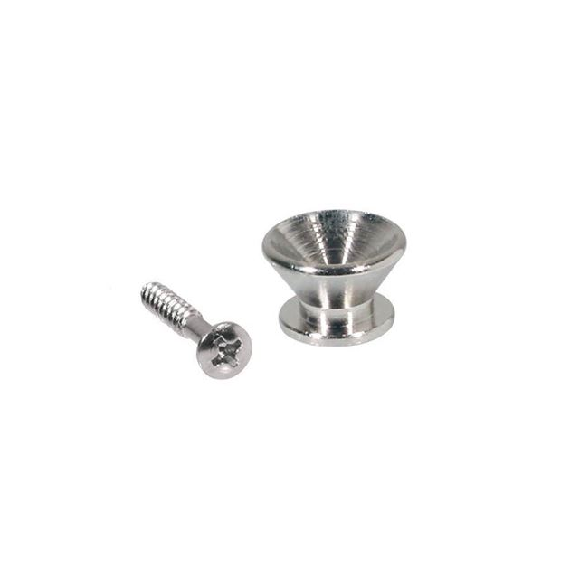 Picture of Strap Button Nickel inclusief schroef