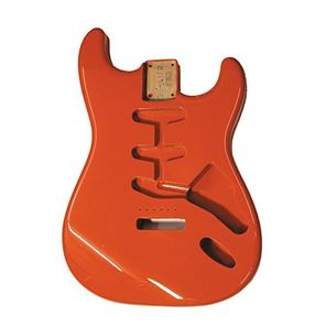 Picture of Stratocaster Body Fiesta Red Amerikaans elzen
