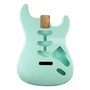Picture of Stratocaster Body Surf Green Amerikaans elzen