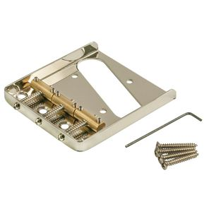 Picture of Kluson® USA Bridge For Telecaster® Brass Saddles Nickel