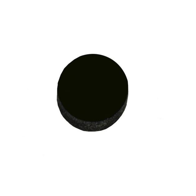 Afbeelding van Dot inlay acrylic 6mm zwart