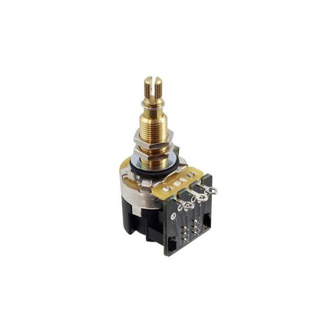 Afbeelding van CTS 500K Push Pull Audio Potmeter Long Shaft