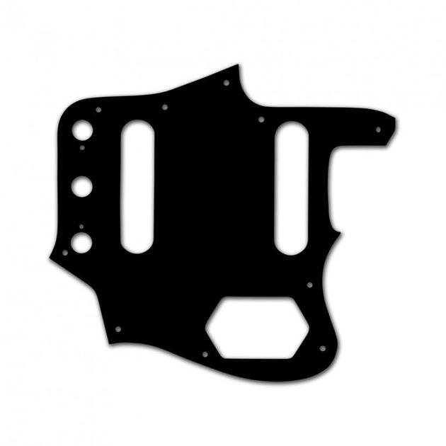 Picture of Pickguard for Jaguar Black / White / Black