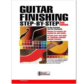 Afbeelding van Guitar Finishing Step by Step - Dan Erlewine & Don MacRostie
