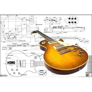 Picture of Gibson Les Paul '59 Blueprint