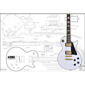 Picture of Gibson Les Paul Custom Blueprint