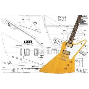 Picture of Gibson Explorer Blueprint