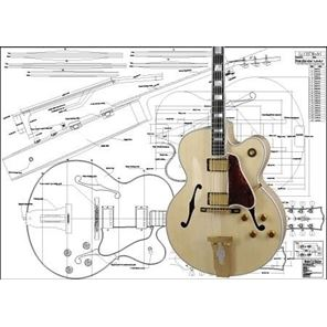 Picture of Gibson L-5 Bouwtekening