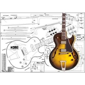 Picture of Gibson ES-175 Blueprint